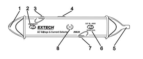 extech dva30感应式测电笔